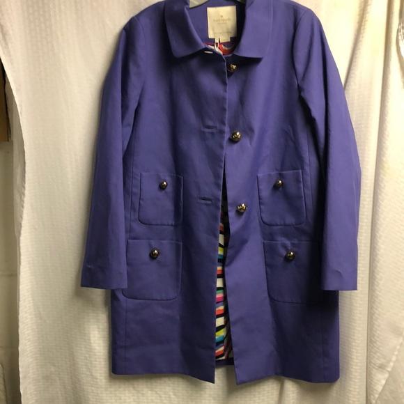 Kate Spade beautiful, never worn raincoat.